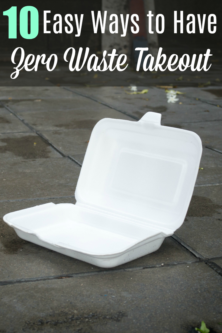 Styrofoam waste on road