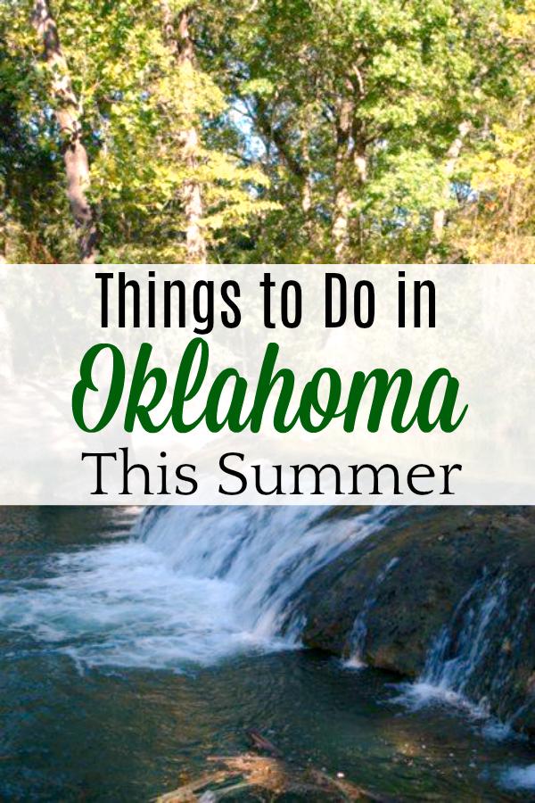Sulphur Oklahoma waterfall