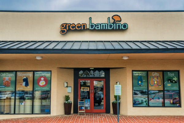 store front of Green Bambino