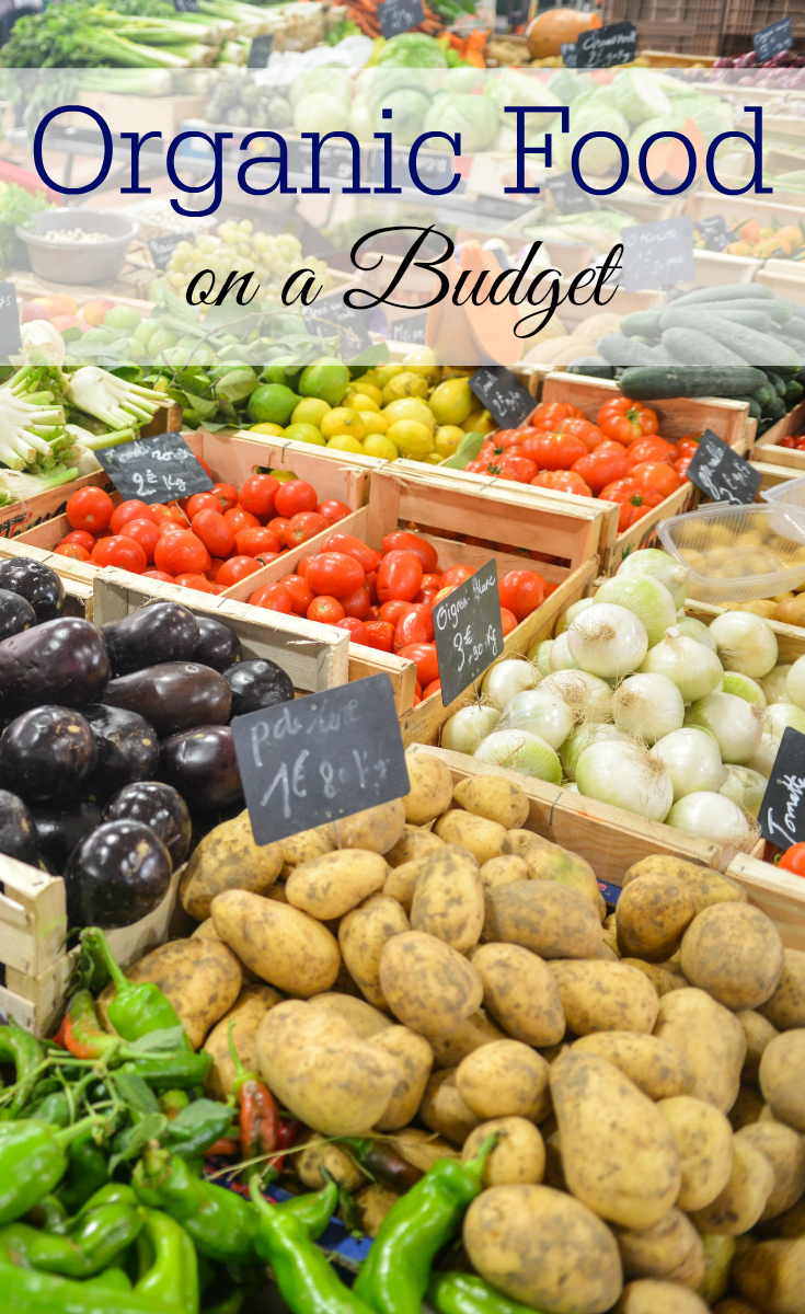 Eating organic food doesn't have to cost a lot of money. These are great tips for eating healthy food on a budget.