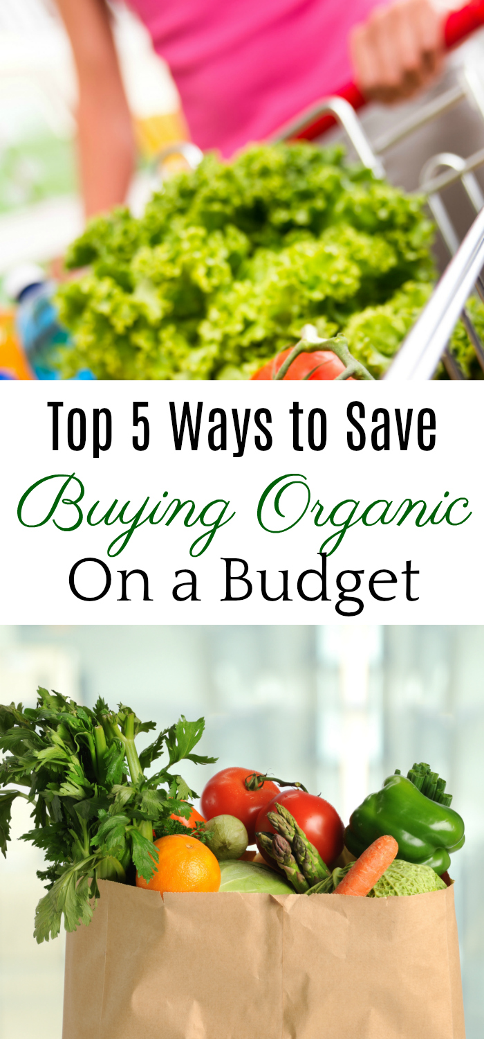 Top 5 Ways to Save, Buying Organic on a Budget