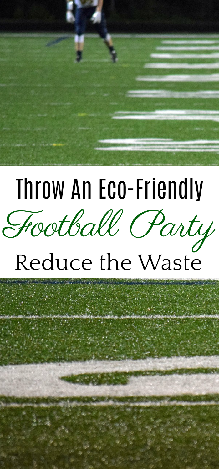 How to throw an eco-friendly football party, eco-friendly tailgating