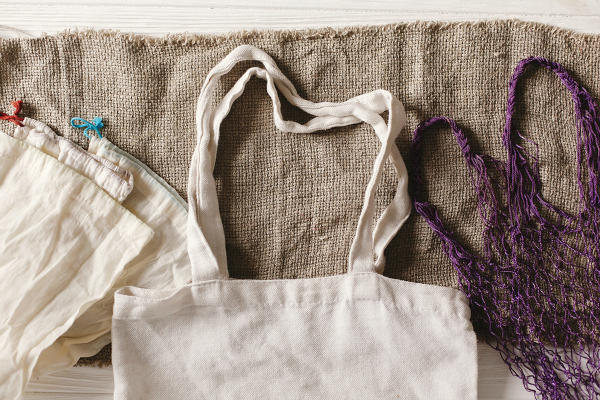eco natural reusable bags for shopping