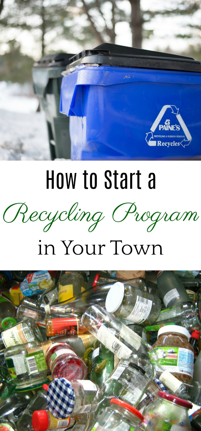 How to start a recycling program, getting your city to recycle