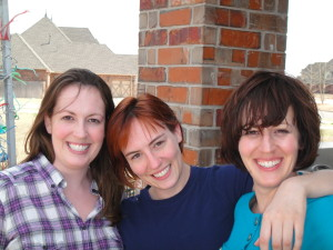 The sister owners, Left to Right Abby Clark, Heather Steele, Melissa Scaramucci