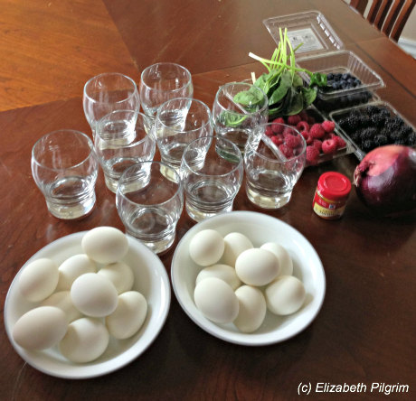 Naturally Dyeing Easter Eggs