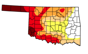 Rain Helps Part of the State, While Drought Expands in Western Oklahoma