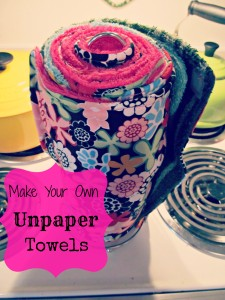 Make Your Own Unpaper Towels