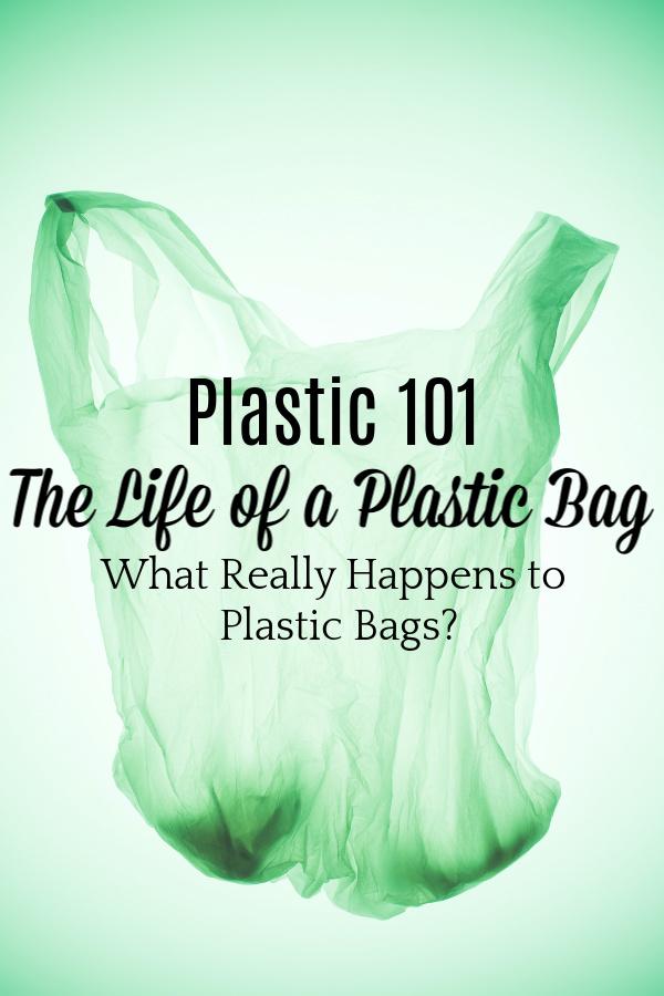 green plastic bag on green background