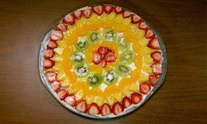 gluten-free dessert fruit pizza