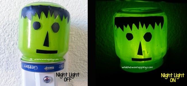Frankenstein Night Light