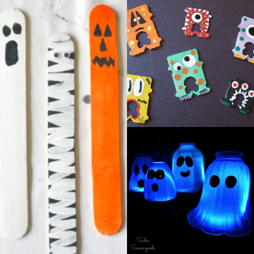 Recycled Halloween Crafts, Upcycled Halloween Crafts, Halloween DIY