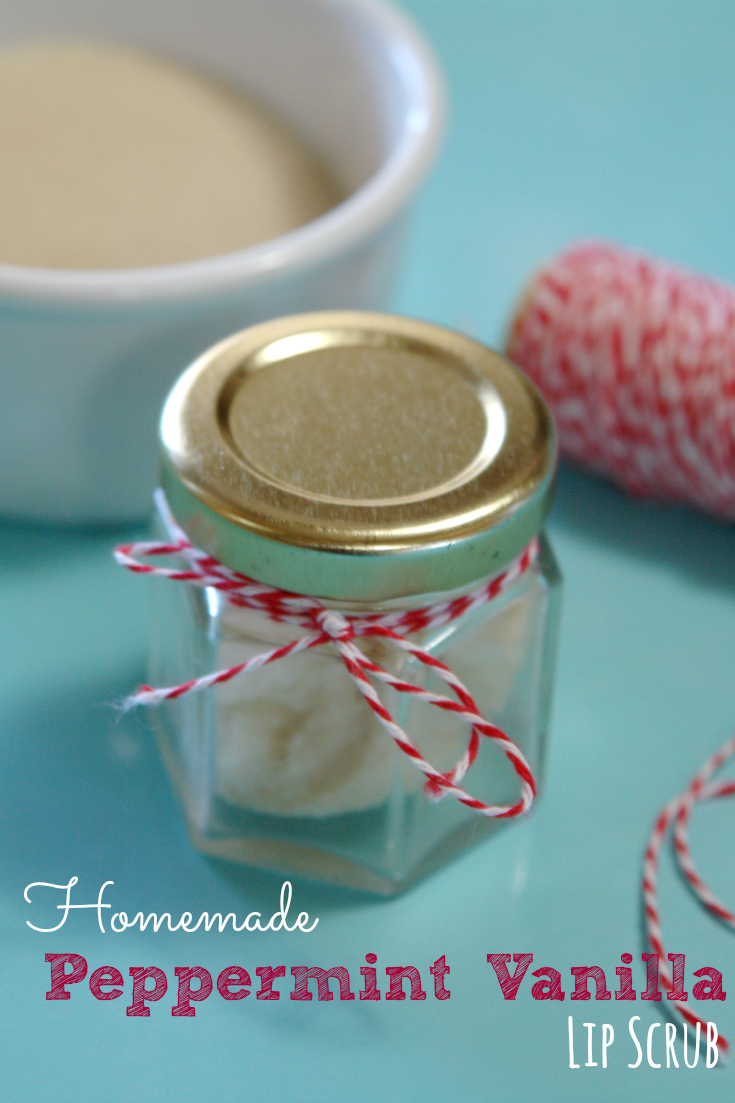 Peppermint Vanilla Lip Scrub