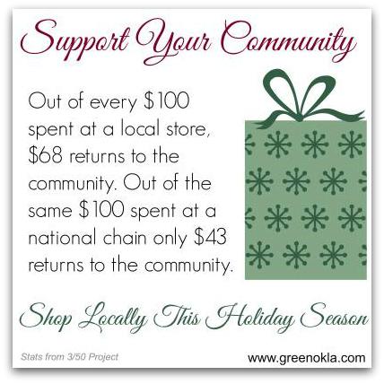 Shop Oklahoma for Christmas