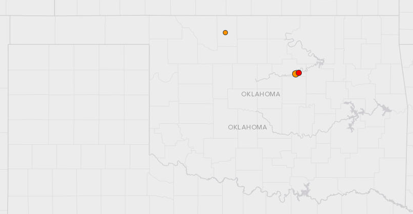 4.0 Earthquake Causes Power Outages in Oklahoma