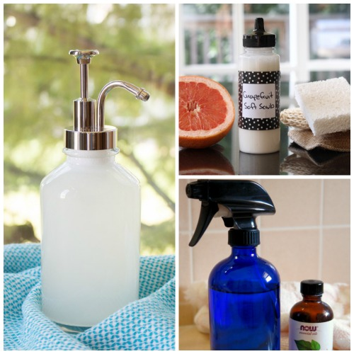 DIY Homemade Natural Cleaners