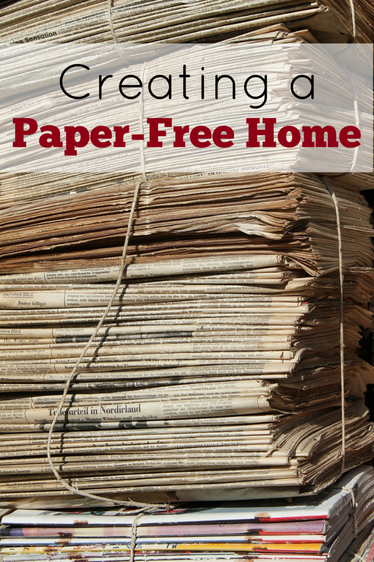 Creating a paper-free home, reusable products, paperless home, waste free, zero waste