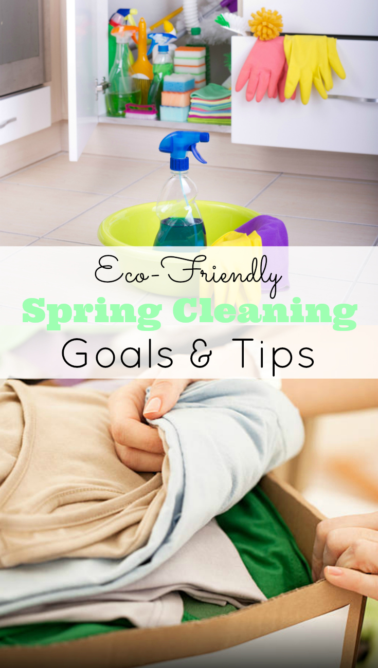 Eco-Friendly spring cleaning tips and goals, Goodwill