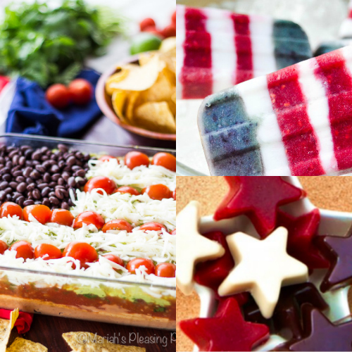 Natural 4th of July Recipes, red,white, and blue recipes, no dyes