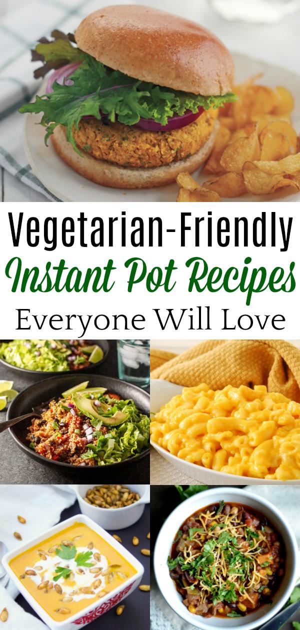 collage of vegetarian food