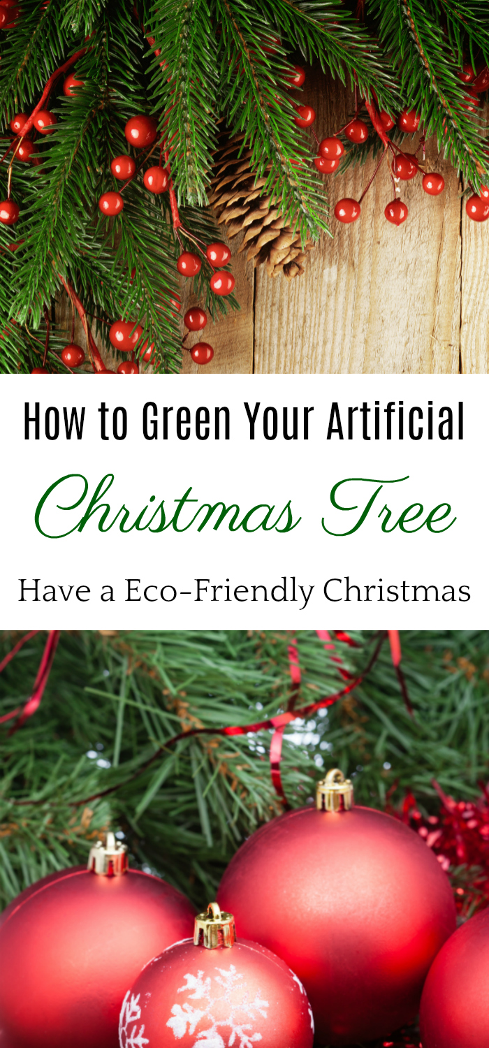 How to Green Your Artificial Christmas Tree, Eco-friendly Christmas Tree