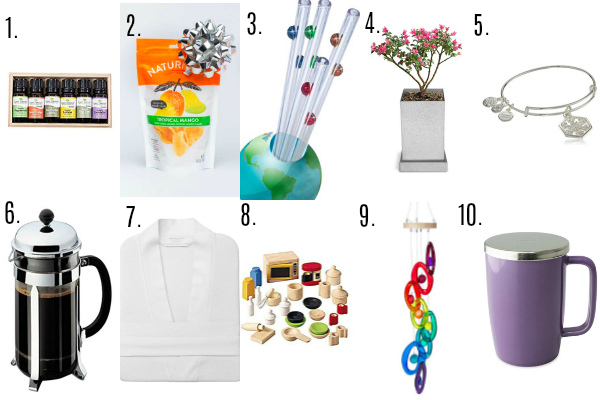 Eco-Friendly Gift Guide, Green Gifts