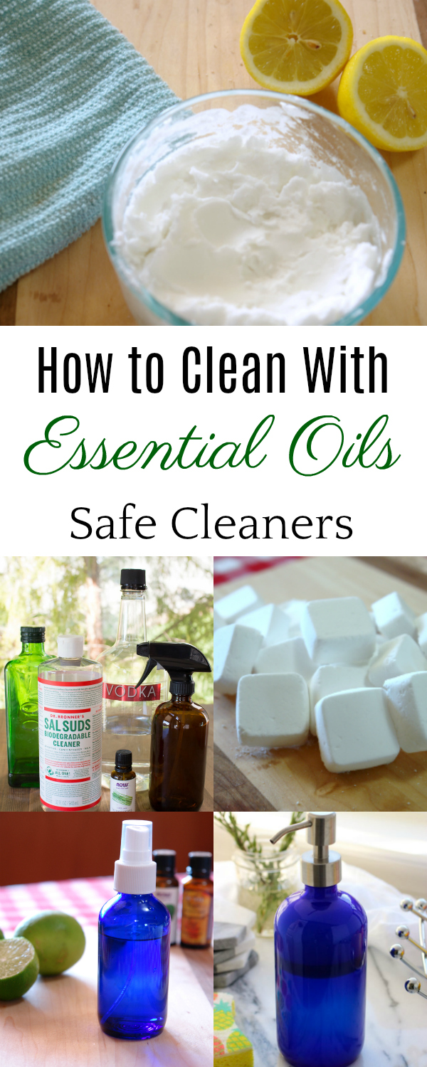 Cleaning with Essential Oils, Homemade cleaners, DIY cleaners #essentialoils #cleaners