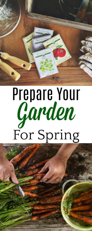 Prepare Your Garden for Spring, #Gardening