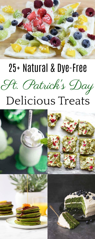 Natural St. Patrick's Day Treats, St. Patrick's Day Recipes #StPatricksDay