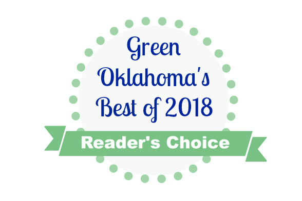 Green Oklahoma's Best of 2018 Logo
