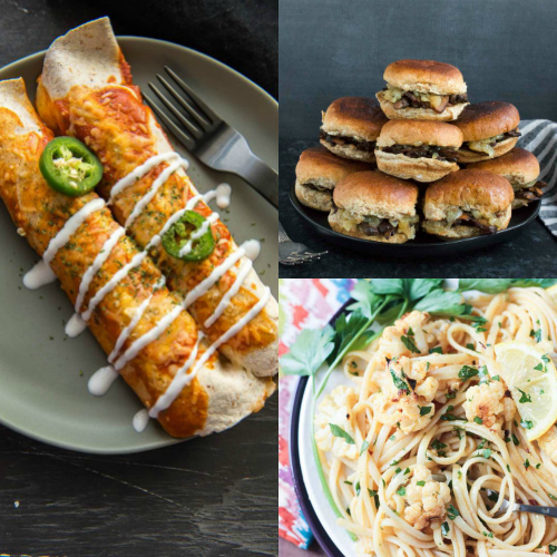 collage of recipes
