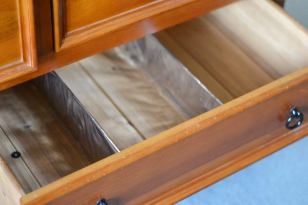 diy drawer dividers in empty drawer