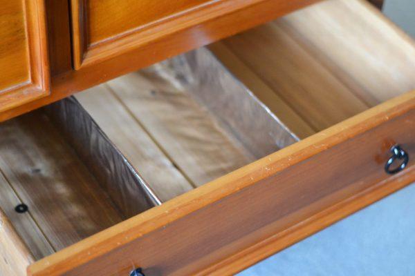 diy drawer dividers in empty drawer