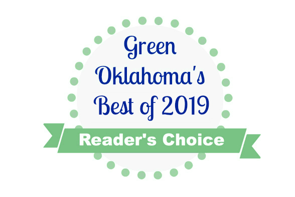 graphic with text Green Oklahoma's Best of 2019 Reader's Choice