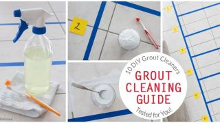 10 Homemade Grout Cleaners