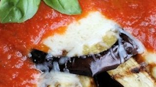 Grilled Eggplant Parmesan Recipe: Low Carb Vegetarian Dinner