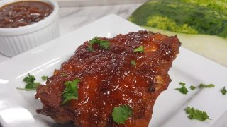 Instant Pot Watermelon Baby Back Ribs