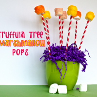 Truffula Tree Marshmallow Pops