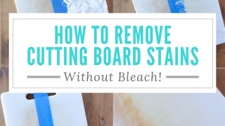 How to Remove Stains From Plastic Cutting Boards