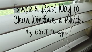 Simple and Fast Way to Clean Blinds