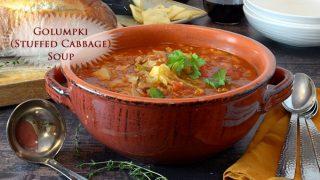 Golumpki (Stuffed Cabbage Soup)