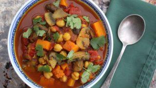 Lebanese Butternut Squash Stew