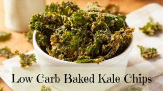 Low Carb Keto Kale Chips Recipe