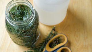 Pine Vinegar Homemade Kitchen Cleaner