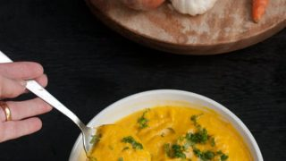 Spiced Pumpkin Puree with Carrot Recipe