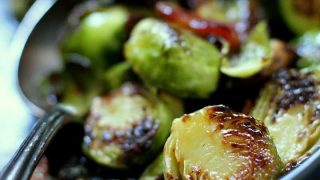 Maple Bacon Brussels Sprouts recipe