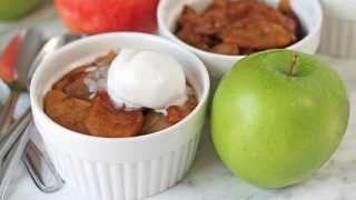 Easy Baked Cinnamon Apple Slices