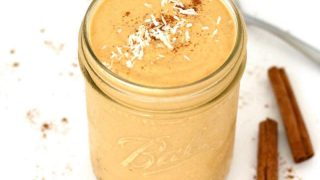 Vegan Pumpkin Spice Pudding