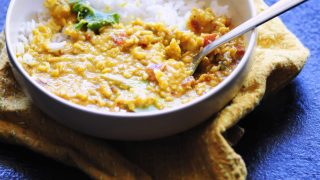 Spicy Coconut Red Lentil Dal