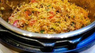 Vegan Jambalaya in the Instant Pot